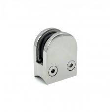 Стеклодержатель литой под стекло 8 мм для круглой трубы ф38,1 / ф42,4 мм